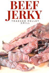 Beef Jerky on the Traeger